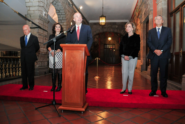 Inauguración de la exposición Patria Íntima en Palacio Nacional