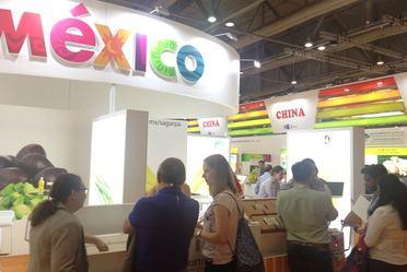 Stand de México en Asia Fruit Logistica