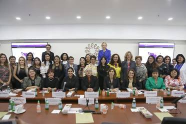 """Reunión de lanzamiento de la Plataforma """"México Rumbo a la Igualdad"""