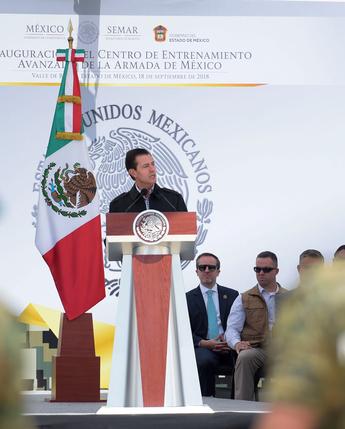 Entrega del Centro de Entrenamiento Avanzado de la Armada de México