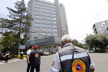 7a semana nacional de protección civil del FOVISSSTE