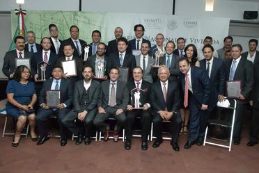 Entrega del Premio Nacional de Vivienda 2015 y 2016