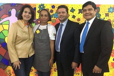"""Llevamos a cabo en el Indesol el evento """"Sociedad y Gobierno, Unidos Contra las Violencias de Género""""."""