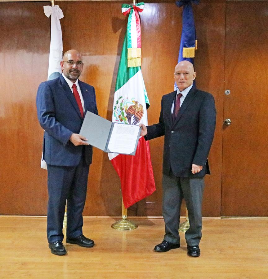Especialistas del Servicio de Protección Federal capacitarán a Policías Estatales y Municipales de Oaxaca en materia de primer respondiente.
