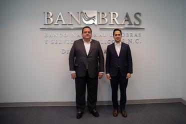 El Director General de Banobras, Jorge Mendoza, se reunió con el Gobernador de Baja California Sur, Carlos Mendoza