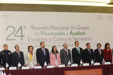 24ª Reunión Nacional del Grupo de Planeación y Análisis Estratégico contra el #Secuestro