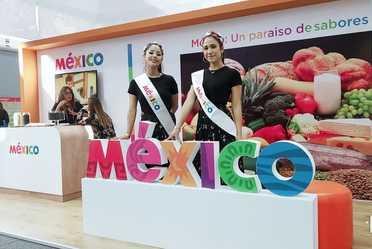 Stand de México en Alimentaria Perú
