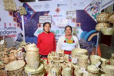 Expo de los Pueblos Indígenas en Monterrey, Nuevo León.