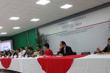 Tercera Reunión con Representantes de Coordinación de la APF