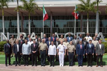 Clausura de la 13ª Conferencia de Ministros de Defensa de las Américas.