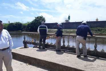 Inspectores de la ASEA en recorrido de verificación en Nanchital, Veracruz