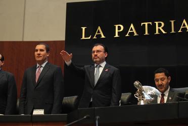 Comparecencia del Canciller Luis Videgaray ante el Senado de la República- VI Informe de Gobierno del Presidente Enrique Peña Nieto