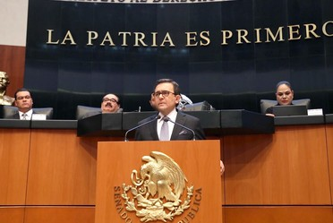 Comparecencia del Secretario de Economía, Ildefonso Guajardo Villarreal, en el Senado de la República