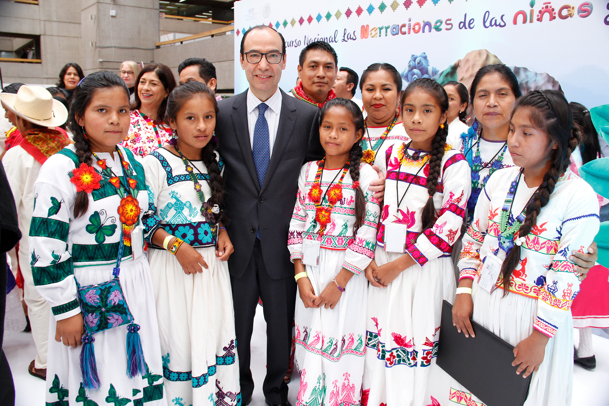 Imagen del subsecretario Treviño