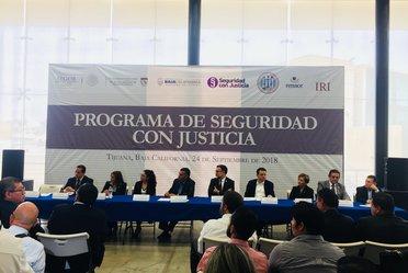 Lanzamiento Programa Seguridad con Justicia