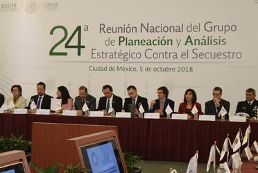 24 Reunión Nacional del Grupo de Plaenación y Análisis Estratégico Contra el Secuestro