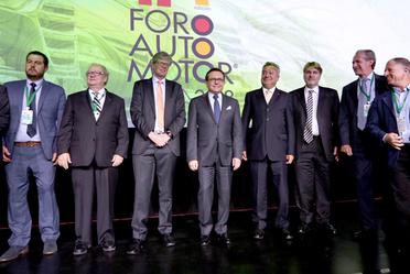 El Secretario de Economía en la inauguración del décimo Foro Auto Motor AMDA 2018