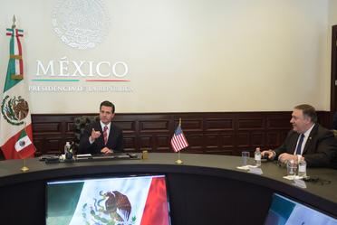 Reunión con Michael Pompeo, Secretario de Estado de Estados Unidos