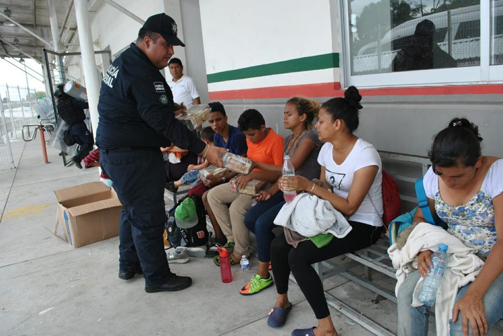 Atención a migrantes centromericanos