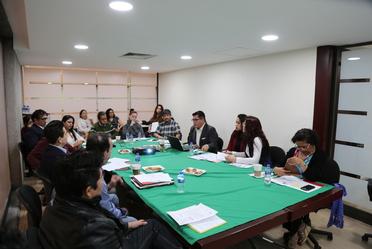 Segunda reunión ordinaria del comité editorial