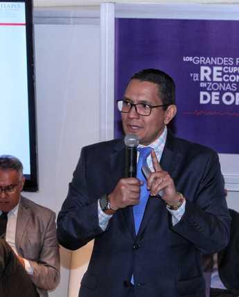 Foro Internacional Reconstrucción en Zonas Afectadas por Desastres Naturales