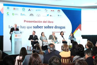 Presentación del libro Lo que hay que saber sobre drogas
