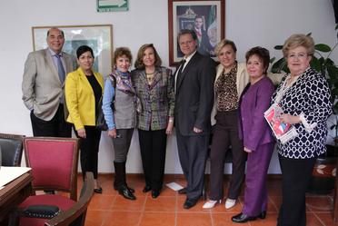 Miembros del Consejo Ciudadano del Inapam.