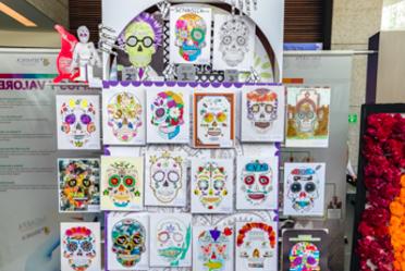 """El SENASICA alienta a su personal a ser creativo en """"Día de Muertos"""""""