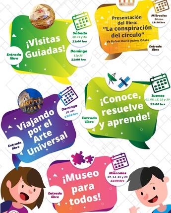 Museo del Telégrafo - Actividades Especiales Noviembre