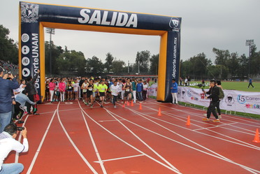Centros de Integración Juvenil y la UNAM realizaron la 15.ª Carrera contra las Adicciones