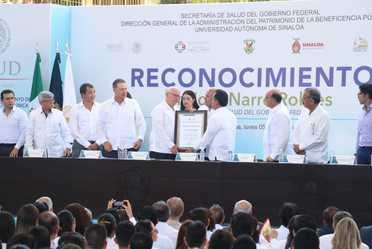 """Ceremonia """"Escuchando Corazones, Pintando Sonrisas"""", la Atención a la Sordera Infantil es una Prioridad en Salud, en Sinaloa."""