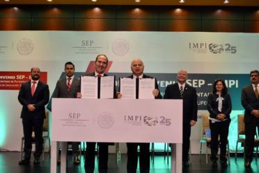 Firma de Convenio IMPI-SEP