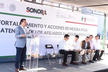 Fortalecimiento y Acciones de Mejora para la Atención de los Afiliados al Seguro Popular en Sonora.