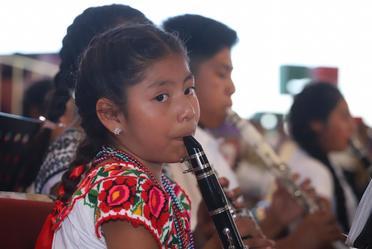 11° Concierto Monumental de Bandas de Viento Infantiles y Juveniles de Oaxaca.