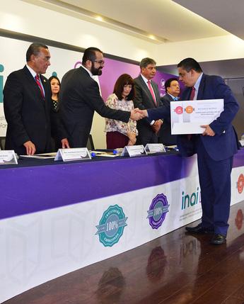 Recibe IPAB reconocimientos en materia de Transparencia
