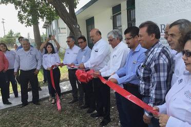 Remodelación del Laboratorio SNICS en Cd. Mante, Tamaulipas.- 5 de noviembre de 2018