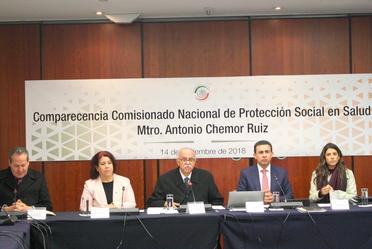 Las reformas a la Ley General de Salud, impulsadas en 2014, han dado certidumbre al Sistema de Protección Social en Salud (SPSS), al transparentar el uso de los recursos públicos transferidos a las entidades federativas: Antonio Chemor Ruiz.