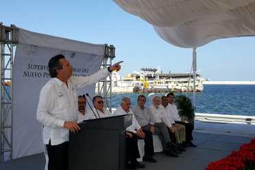 Concluye SCT obra gubernamental del Nuevo Puerto de Veracruz