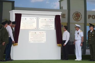 """Entrega de las Instalaciones de la 3/a Brigada de la Policía Militar """"El Sauz"""""""