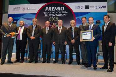 Premio a la Pesca y Acuacultura Sustentables 2018