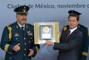 Ceremonia de Reconocimiento al Presidente de los Estados Unidos Mexicanos, Enrique Peña Nieto