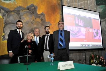 Presentación de la Gran Biblioteca de la Ciudad de México y Homenaje a la maestra Consuelo Tuñón, en la Biblioteca Miguel Lerdo de Tejada
