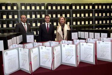 Visita al Archivo General de la Nación