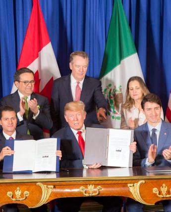 Firma del T-MEC. Cumbre de líderes G20