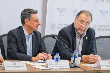 Reunión del Consejo Consultivo Nacional de la COPECOL (Conferencia Permanente de Congresos Locales) en la CRE.