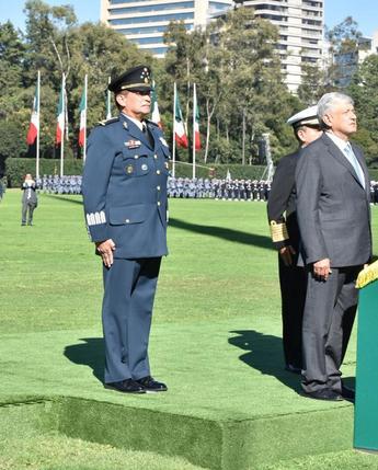 """""""Ceremonia de Salutación de las Fuerzas Armadas"""", Campo Deportivo Militar """"Marte""""; #CDMX"""