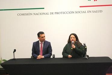 La Mtra. Angélica Ivonne Cisneros Luján, Comisionada Nacional de Protección Social en Salud,  aseguró que es prioridad para esta administración eliminar la desigualdad en el acceso a servicios de salud, avanzar en la cobertura y equidad en salud.