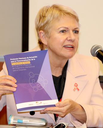 Presentación del Protocolo Mexicano de Actuación de Género y CID