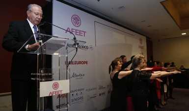 Toma de protesta de la Mesa Directiva Nacional de la Asociación Femenil de Ejecutivas de Empresas Turísticas de la República Mexicana (AFEET)