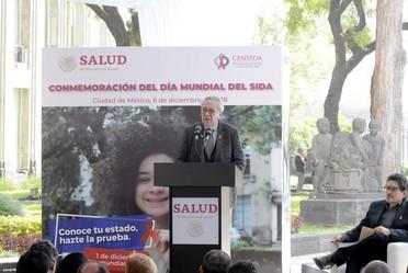 El Secretario de Salud presidió la Ceremonia del Día Mundial del Sida 2018.